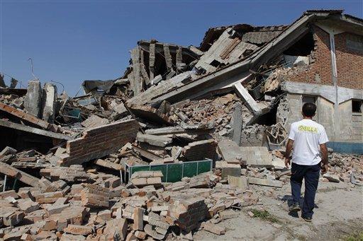 Deadly quake rocks central Italy