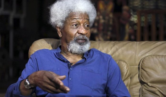 BREAKING: I'll hold private funeral on Trump's inauguration day – Soyinka- Literature