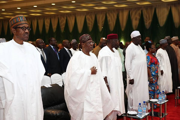 Image result for buhari lunches change begins with me