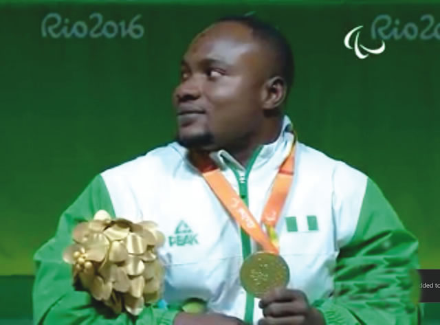 Powerlifter Tijani wins Nigeria's first medal at Rio Paralympics