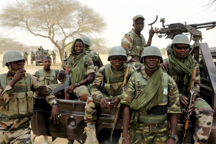 Army kills seven militants in Bakassi, recover arms