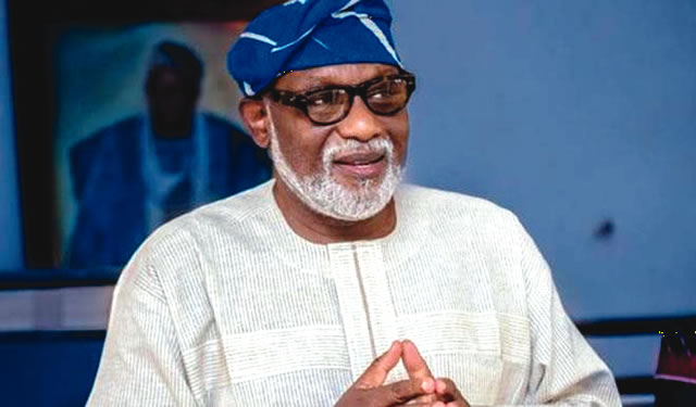 Ondo election : Akeredolu commends Jegede, Oke