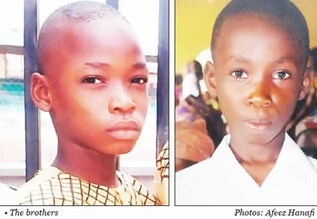 Two teenage schoolboys, Godspower and Marvellous Ebubechukwu were, over the weekend found drowned in a lagoon in Ibeshe, Ikorodu area of Lagos State