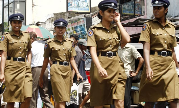 Sri Lankan police force to grant equal status to women ...