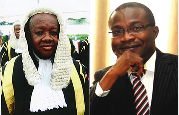 Image result for Justice Adeniyi, Dimgba resume sitting in Court