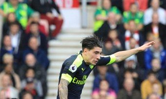 Arsenal's Spanish defender Hector Bellerin AFP
