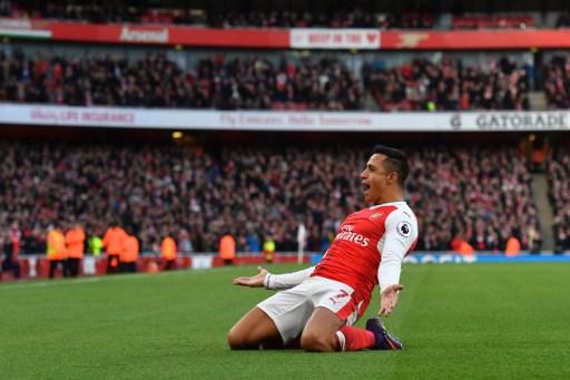 Arsenal's Chilean striker Alexis Sanchez AFP