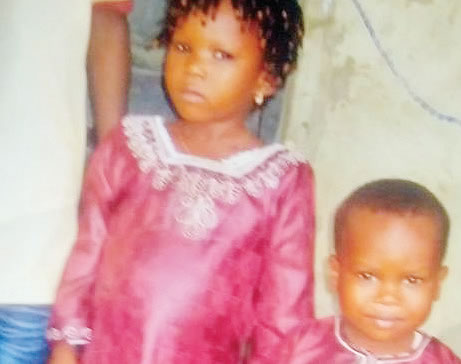 • The abducted children Photo: Samson Folarin