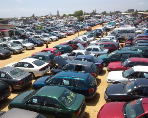 Image result for Buhari Bans Importation Of Vehicles