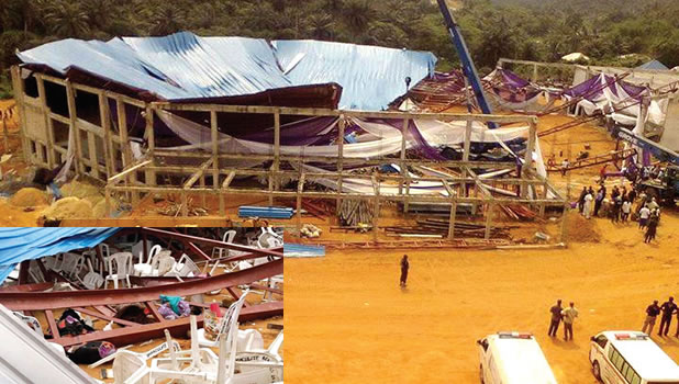 Church collapse: A'Ibom debunks mass burial rumour
