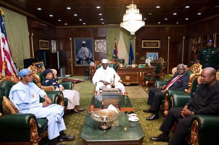 Jammeh, Buhari