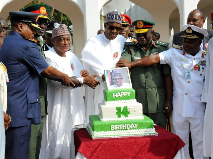 PHOTOS: Buhari is 74