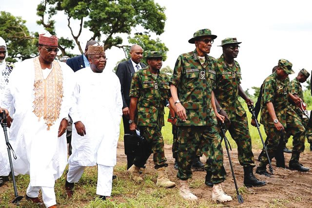 Tinubu, govs hail Buhari, troops on Sambisa's capture