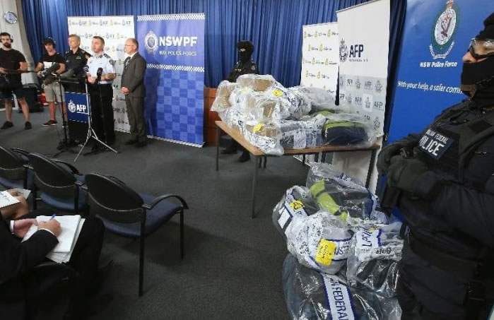 Police bust drug ring, seize $360m cocaine
