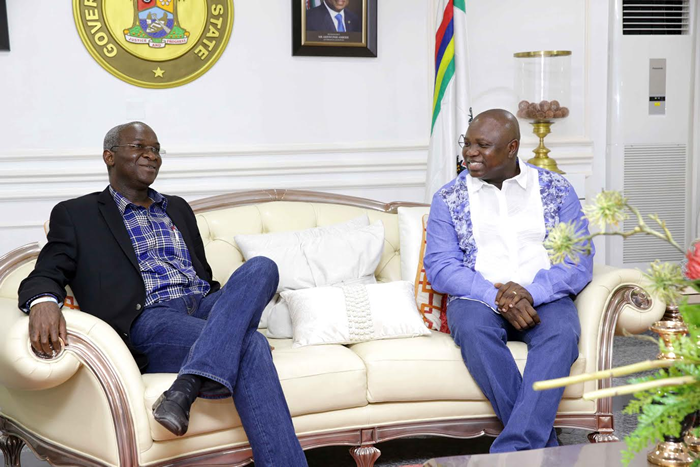 Image result for Ambode gets permission to begin reconstruction of MMIA road