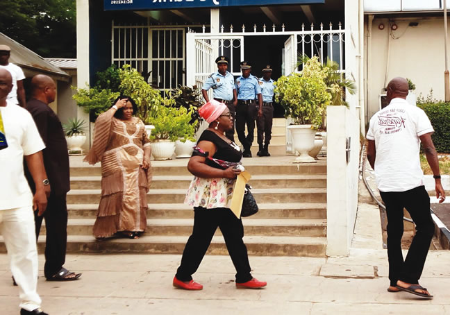 Unfrozen $5.9m: Bank stops Patience Jonathan from withdrawing money