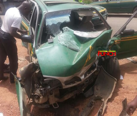 One feared dead, five others injured in Ogun multiple crash