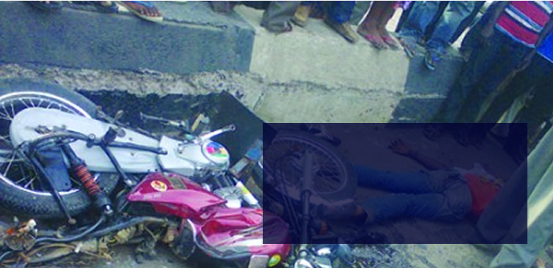Truck crushes motorcyclist to death in Lagos