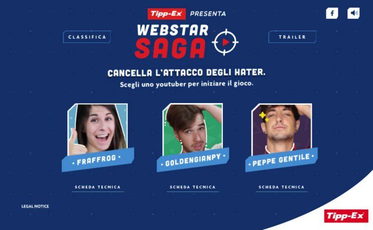 Webstar Saga Tipp-ex