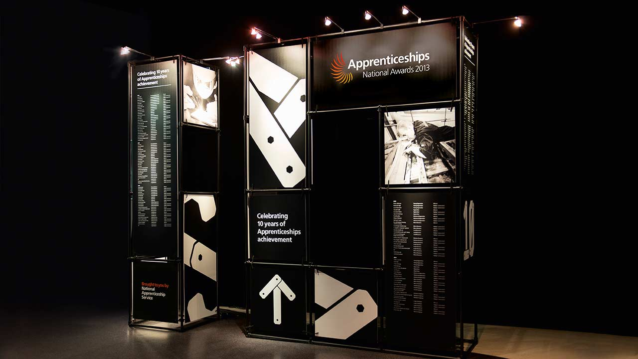 An integrated campaign for the Apprenticeships Awards event