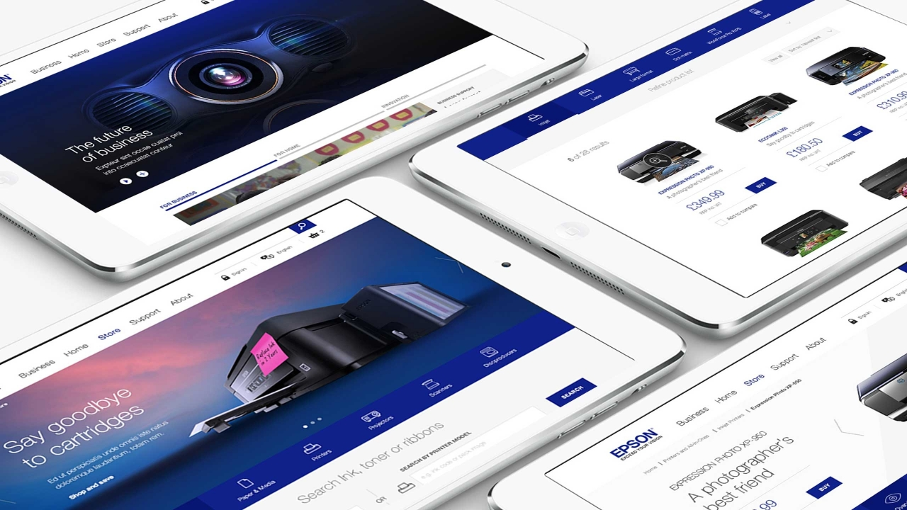 Epson pan-european website