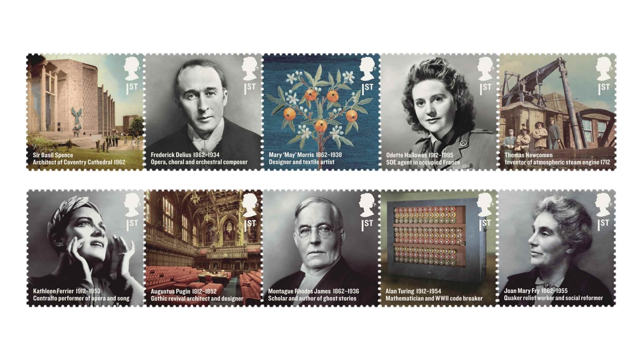 Royal Mail Britons of Distinction stamps