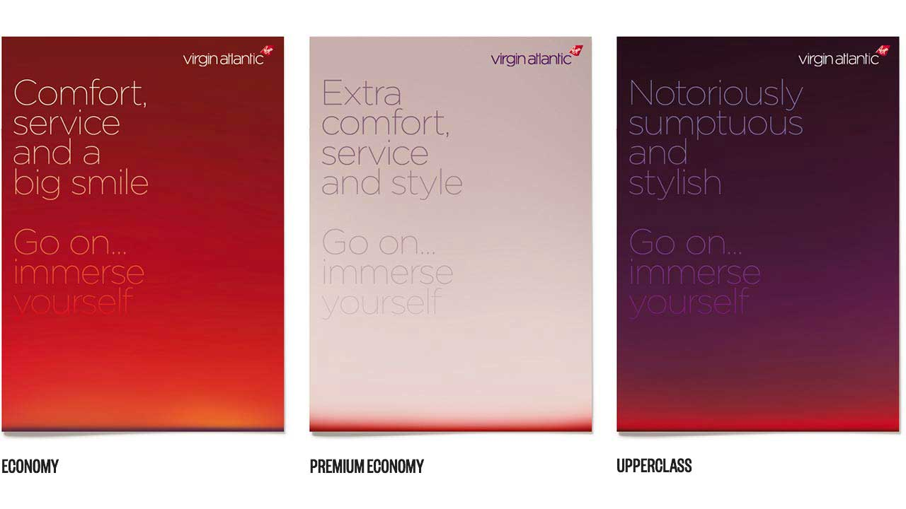 Virgin atlantic covers