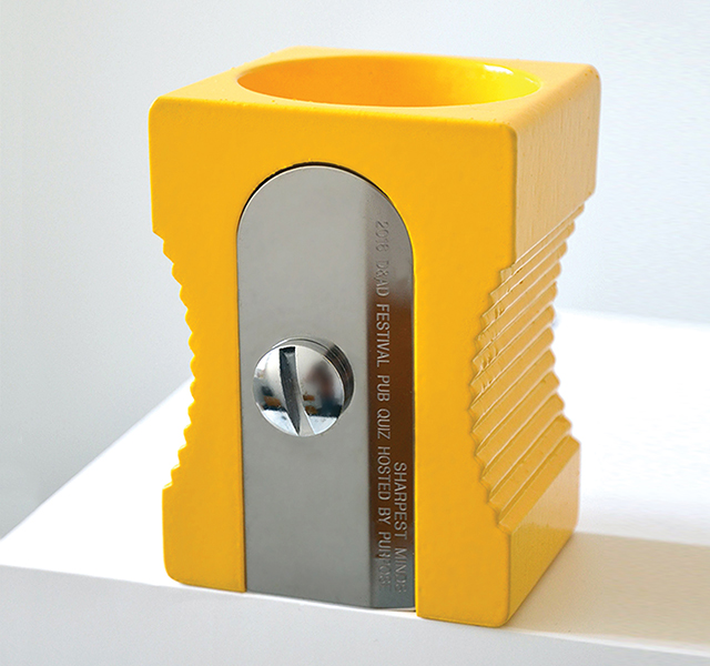 And the D&AD Pencil (sharpener) goes to...