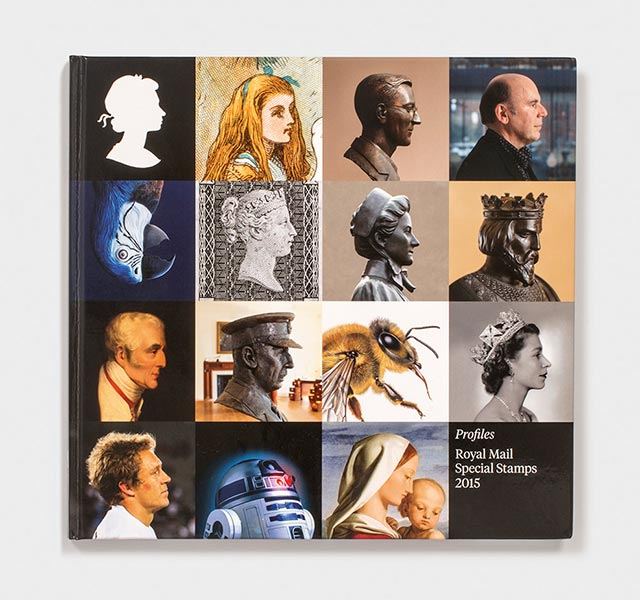 Royal Mail Yearbook 2015 designed by Purpose