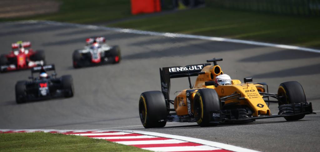 Renault skuffede ved det kinesiske formel 1 grandprix