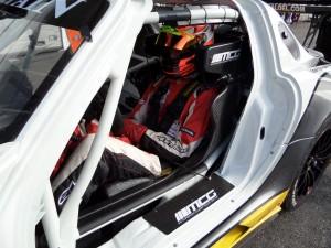 Nicolai Sylvest i Rowe Racings Mercedes AMG SLS GT3