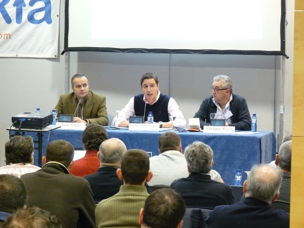 Juan Such, Fernando Bernad y Enrique Roca