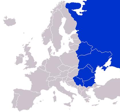 Europa del este.mapa foro