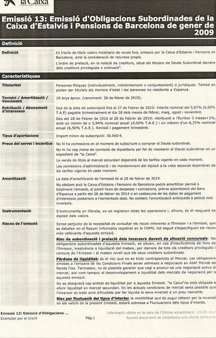 Folleto Informativo DSU Emisión 13