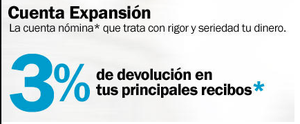 Cuenta expansion banco sabadell col