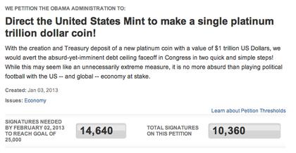 Peticion crear moneda platino foro