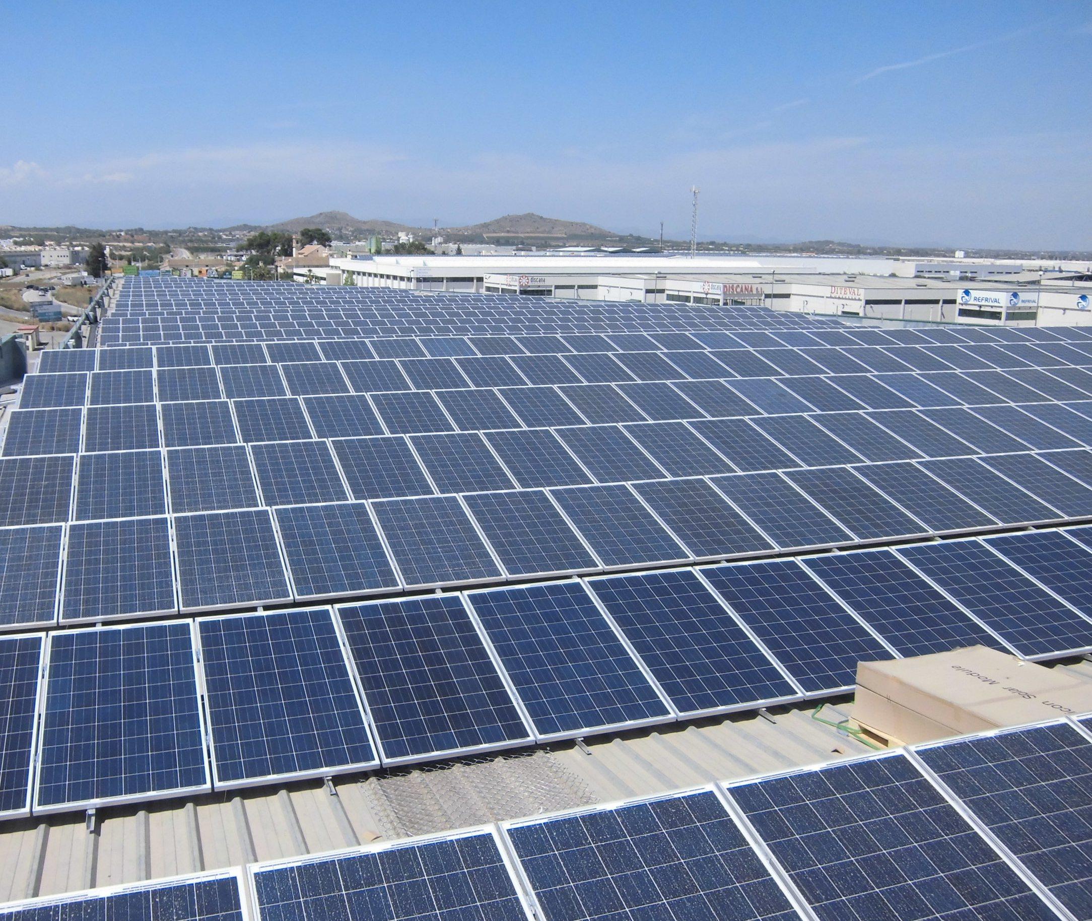 Valencia para so para la inversi n en energ a solar for Tejados solares