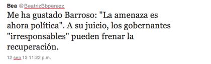 Barroso foro