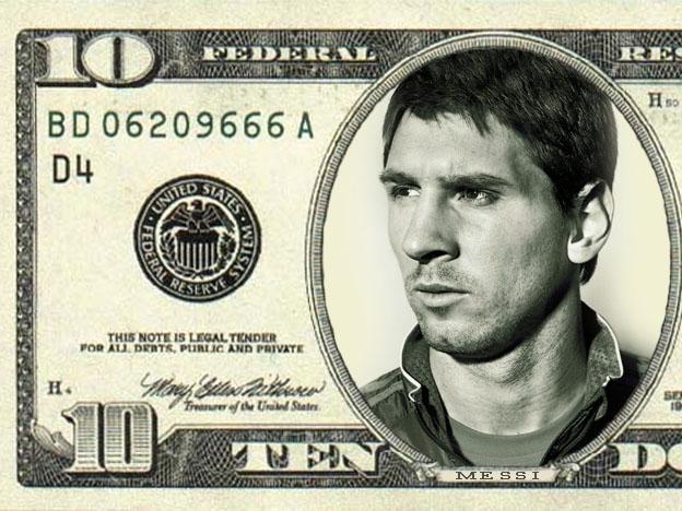 dolar messi