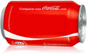 Lista de nombres de Coca cola