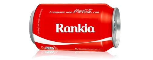 ¿Qué nombres están en las latas de Coca-cola?