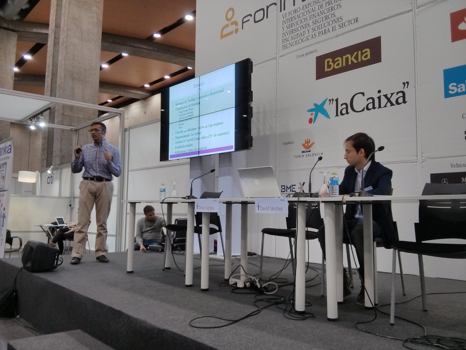 Ponencia de Oscar Cagigas en Forinvest 2014