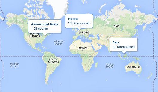mapa dws