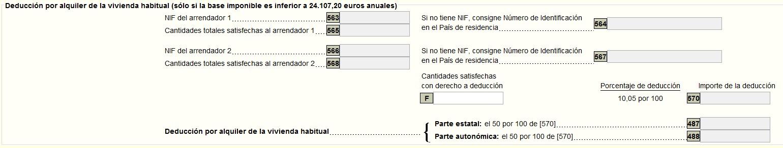 Deducción por alquiler vivienda habitual declaración de la renta 2013