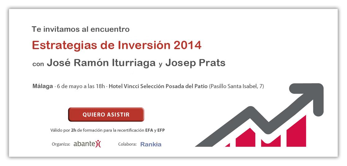 invitación conferencia abante en Malaga