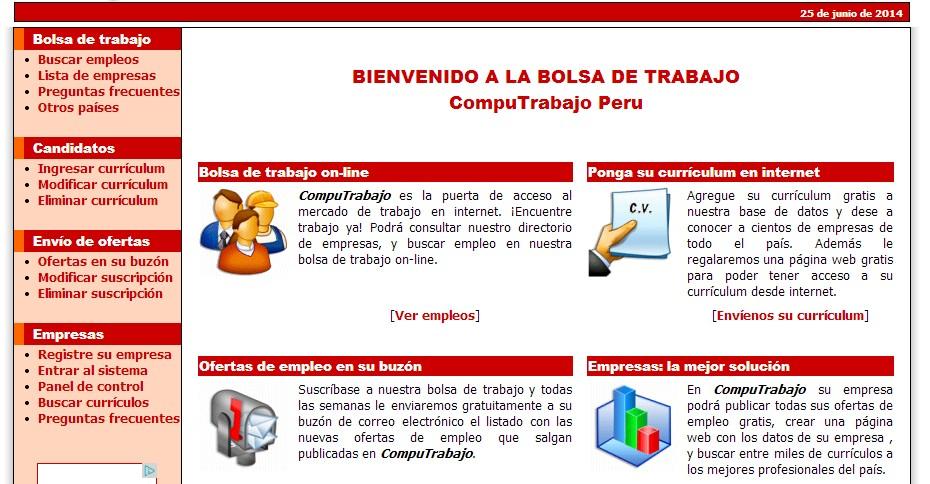 Computrabajo es colombia autos post - Ofertas de empleo en navarra ...