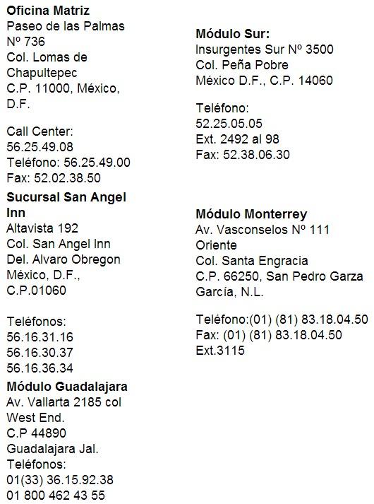 horario sucursales madrid: