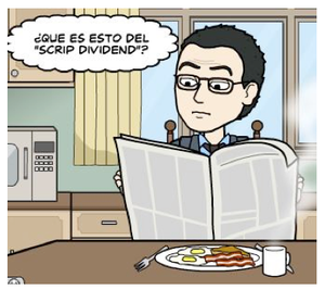 Scrip dividend col