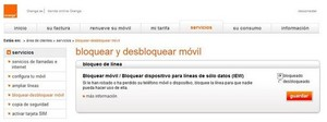 Robo movil orange col