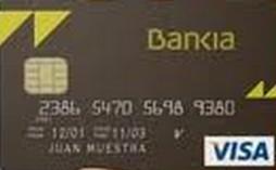 Tarjeta flexible bankia col